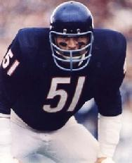 "Dick Butkus mentioned in Frank Lamphere's song ""Chicago is for Me"""