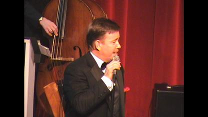 """Mr. Rat Pack"" Frank Lamphere and his quintet performed at the HOBNOB in Racine, Wisconsin"